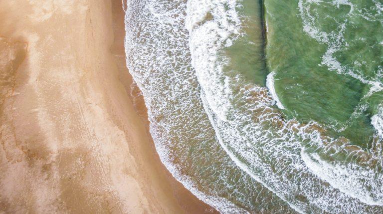 La ligne de mi marée