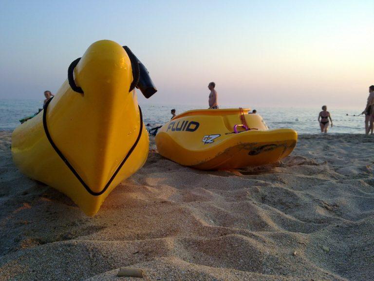 La gîte pour tourner en bateau directeur – Kayak de mer