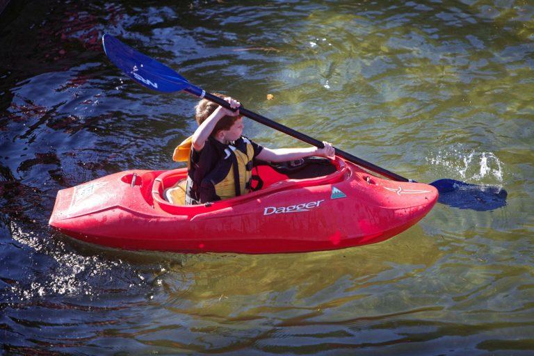 Contrôler la trajectoire de son kayak